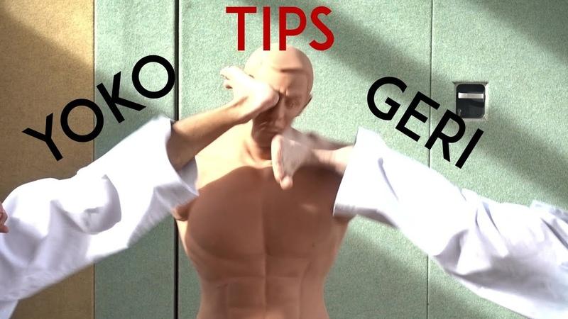 MORE YOKO GERI TIPS - karate side kick - TEAM KI