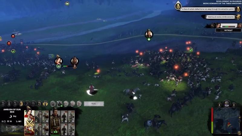 Геймплейный трейлер Зacaдa Сaн Peн в игре Total War: THREE KINGDOMS!