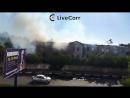 Пожар в казарме в Орехово-Зуеве