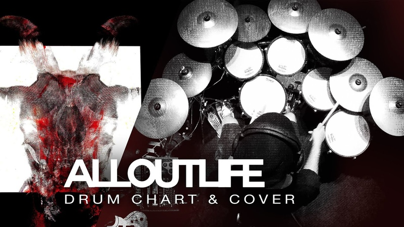 Slipknot - All Out Life (Drum Cover/Chart)