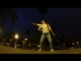 Dancehall freestyle in Barcelona by Kazakh