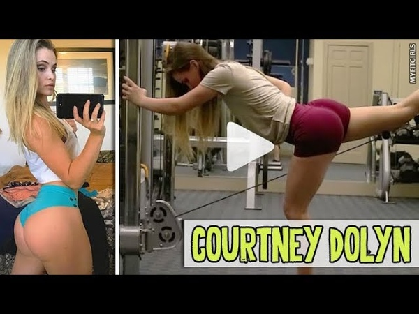 COURTNEY DOLYN Perfect Body Fitness Motivation Quads Glutes Legs