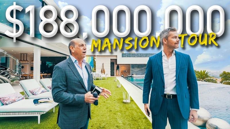 Touring A Massive $188 Million California Mega Mansion Ryan Serhant Vlog 038