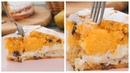 Пирог из тыквы с творожным кремом / Тыквенный пирог рецепт