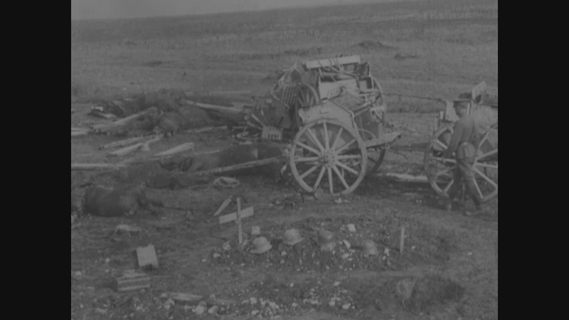 Scenes in Area of Somme Offensive September 24 to October 21 1918