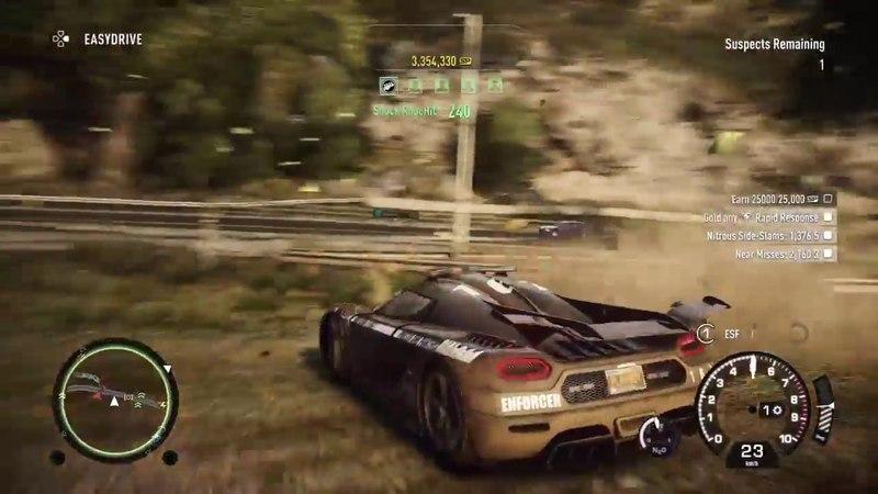 Карающий меч правосудия.Koenigsegg One:1.Онлайн-арест ( Need for Speed™ Rivals )