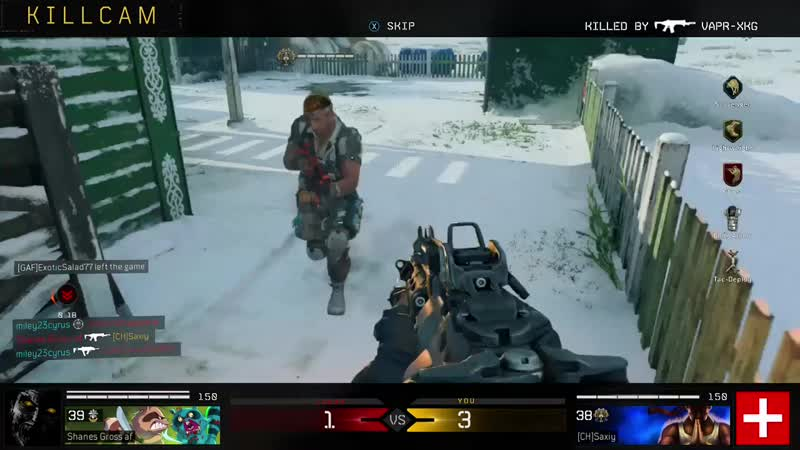 50 points off a gunship. There needs to be a solution to this. Black Ops 4