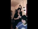 Sebastian Danzig Instagram Story Emerson and mom