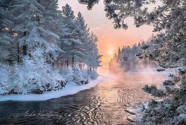 Доброго зимнего утречка и чудесного дня,дорогие друзья! Желаю вам отличных новостей, интересных открытий и великолепного настроения.