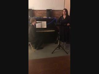 Концерт Елизаветы Боковой и Льва Шишкина в Гараж-баре 2ое отделение