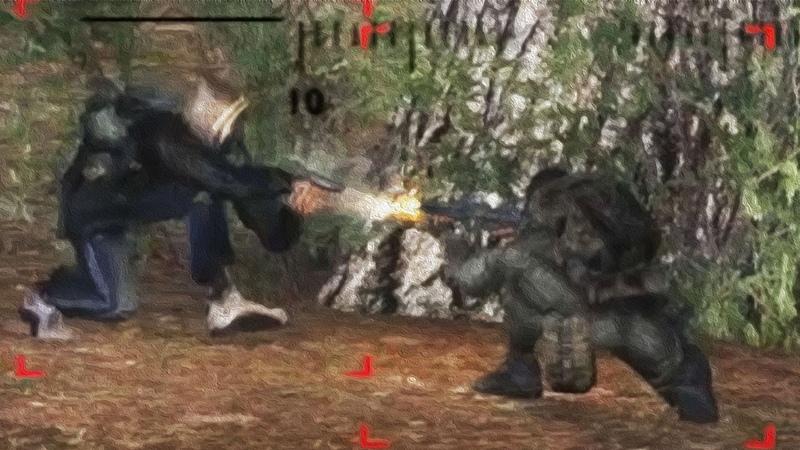 Мэддисон играет в STALKER - Голый Пистолет