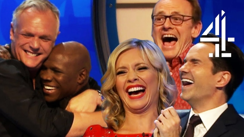 GREG DAVIES FREAKS OUT WHEN CHRIS EUBANK TURNS UP!! | 8 Out Of 10 Cats Does Countdown Best Bits Pt 4