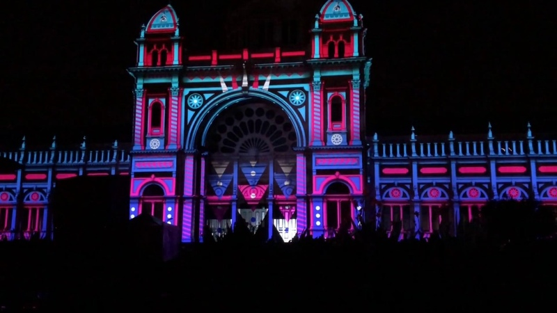 Projection Mapping | White Night 2018 | Melbourne (HD)