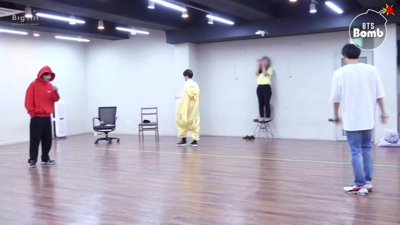 [BANGTAN BOMB] BTS PROM PARTY UNIT STAGE BEHIND - 죽어도 너야 - BTS (방탄소년단)