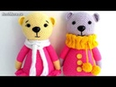 Амигуруми схема Мишки в розовом Игрушки вязаные крючком Free crochet patterns
