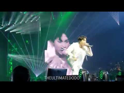 180922 Outro: Tear @ BTS 방탄소년단 Love Yourself Tour in Hamilton Fancam 직캠