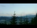 Nebel in den Karpaten