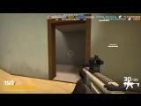 Gunkeepers gameplay: MPX+Karambit