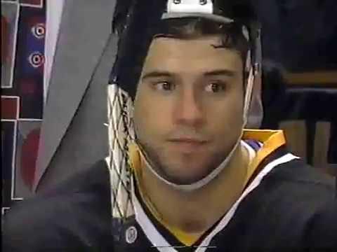 Alex Karpovtsev assists on Christian Dube first NHL goal (1996)