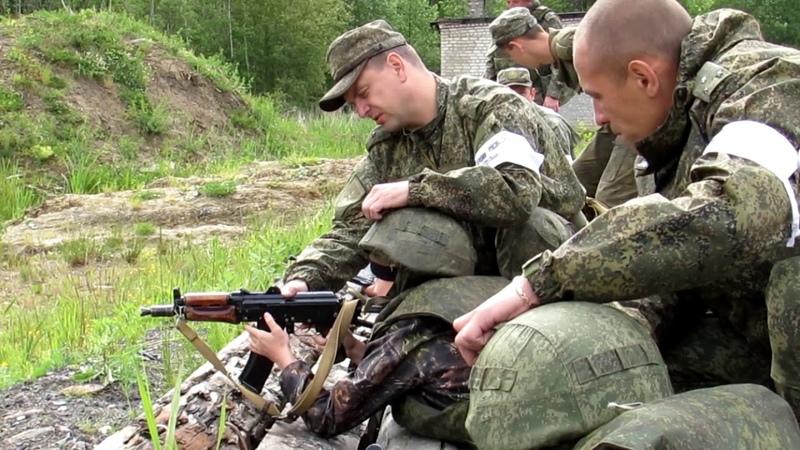 ВПК СКЛОН «Стрельба с места по неподвижной цели днем» (УНС-1)