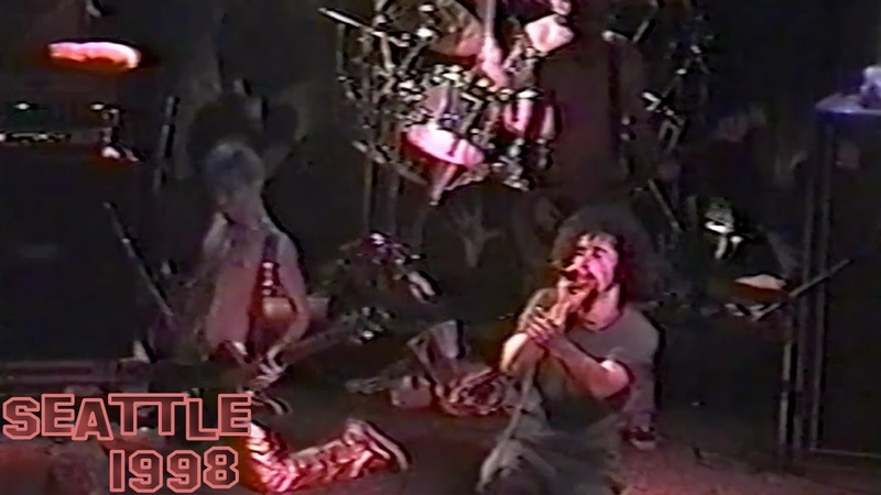 System Of A Down - Mind live 【Seattle 1998 | 60fps】