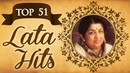 Top 51 Lata Mangeshkar Superhit Song Collection HD Video Jukebox Evergreen Bollywood Songs