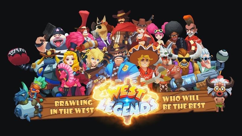 West Legends: 3v3 Wild West Themed MOBA