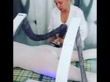 Вика работает, массаж B-flexy Lpg