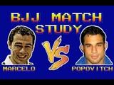 BJJ Match Study Marcelo Garcia vs Pablo Popovitch