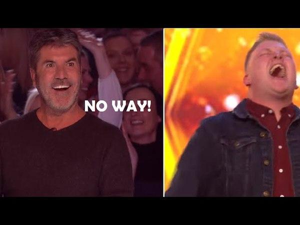 Simon Stops Him But After...A Magical Moment Happens 🌟 GOLDEN BUZZER!   Britain´s Got Talent 2018