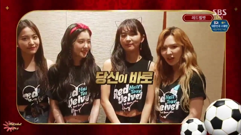 170617 Red Velvet @ Massage from Inkigayo