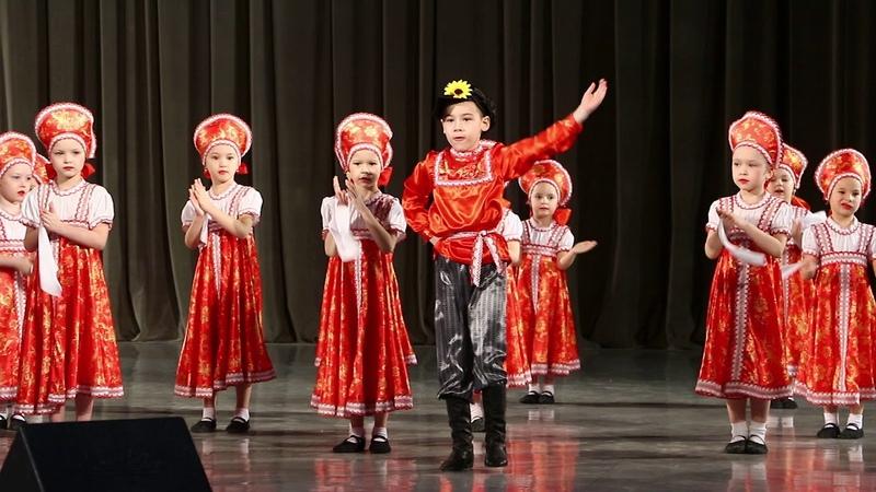 Детская танцевальная группа Забияки Русский танец