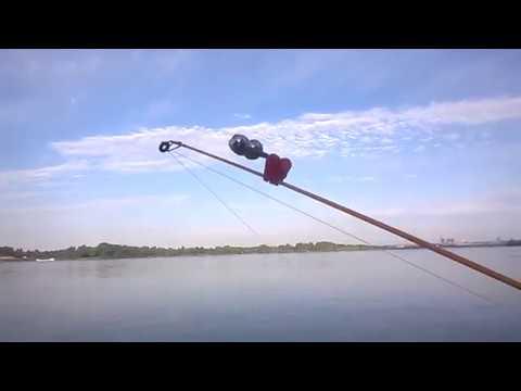 Рыбалка на фидер, река Обь