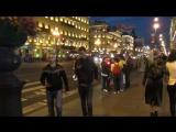 Развод мостов 2 и ночной Невский проспект