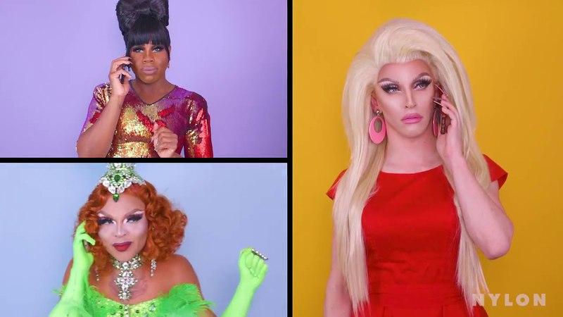 RuPauls Drag Race Mean Girls (Aquaria, Miz Cracker, Vanessa Vanjie Matteo, Monét X Change)