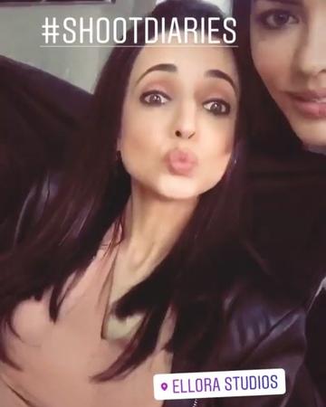 "Naz Nisar ~ Farzina Shehnaz on Instagram: ""Glimpse of Sanaya sanayairani sanaya zindabaad"""