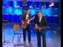 КВН Медведев и Путин лабают рок (смешное видео, хорошее настроение, юмор, выборы, политика, музыка, клип, Путин играет, мишка).