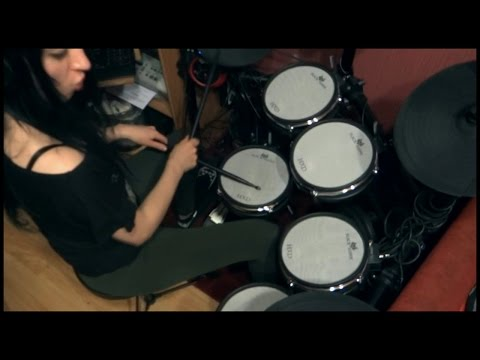 Thunderstone - The Riddle (Nik Kershaw Cover) - drum cover