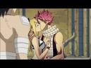 Хвост феи - Нацу, Грей и Люси - Он нежно целует тебя в губы