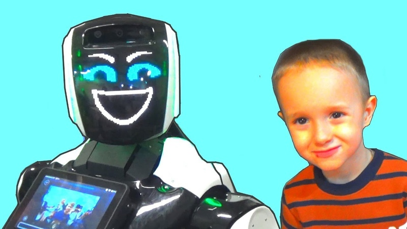 Нереальные танцы роботов Dancing robots Мега выставка