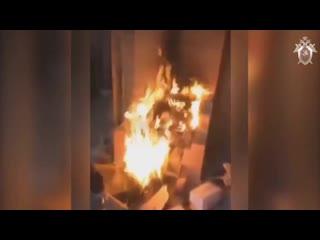 Малолетки сожгли дом