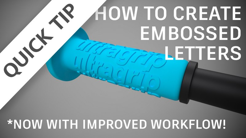 QUICK TIP How to emboss letters updated