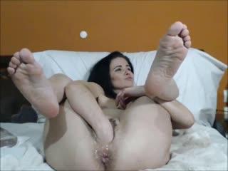 Queenvivian [фистинг, анал, fisting, brutal dildo, big toys, extreme pussy insertion, anal, gape, milf, домашнее порно]