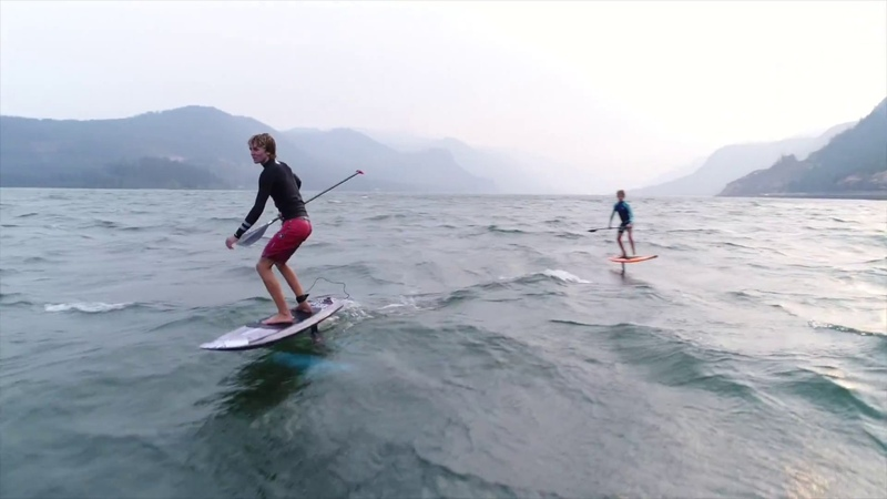 Spencer Brothers, Downwind SUPfoil Session at the Hatchery, Foil Buzz