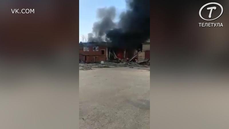 В Алексине на базальтовом заводе произошел взрыв