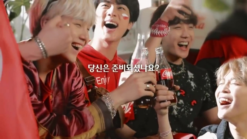 BTS NEW COCA-COLA COMERCIAL -WORLD CUP AD-