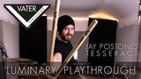 TESSERACT - LUMINARY, JAY POSTONES (for Vater drumsticks)