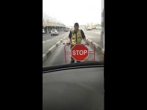 ЗСД. Западный Скоростной Диаметр СПБ. Произвол Охраны, как задерживают автомобили на ЗСД
