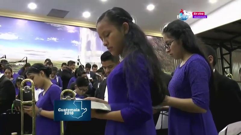 1ER SERVICIO CONVENCIÓN NACIONAL DE JÓVENES Y PASTORES GUATEMALA 2018