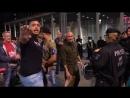 Am Tatort der Geiselnahme am Köln hbf Rechte und linke Demonstranten treffen aufeinander